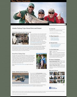 Alaska Fishing Website